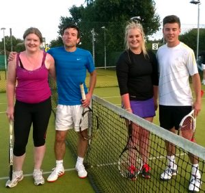 Mixed Doubles: Graham Bunting & Sarah Mitchell bt Luke Jennings & Rhian Perry 0/6 6/2 6/1